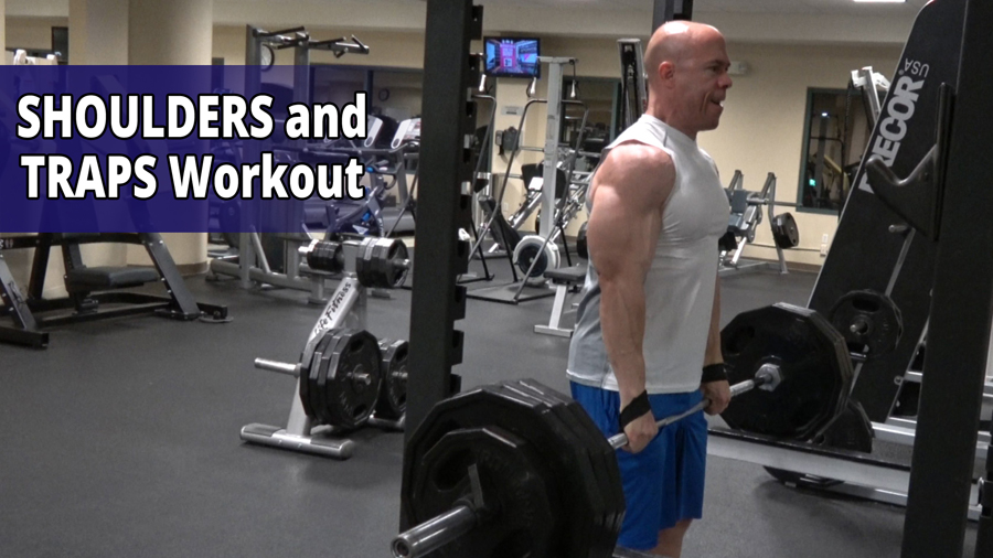 Shoulders and Traps Workout